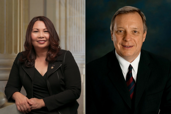 Duckworth, Durbin call on Trump administration to defend ACA
