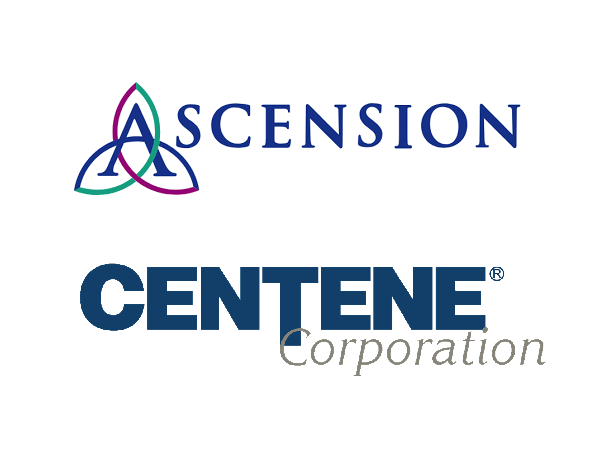 Ascension exploring partnership with Centene on health plan