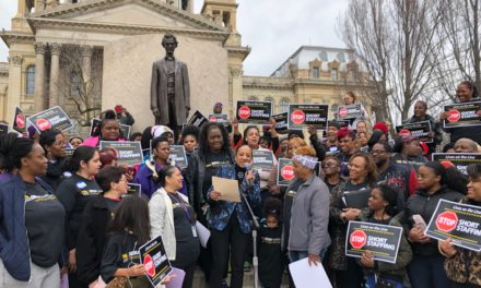 SEIU, AARP rally for stricter staffing ratios for nursing homes