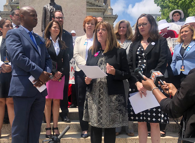 Advocates push for vote on proposed expansion of abortion rights