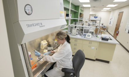 Rosalind Franklin University open bioscience incubator in Lake County