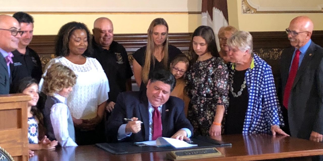 Pritzker signs legislation mandating Lyme disease coverage