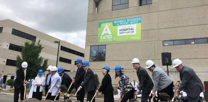 Little Company of Mary Hospital breaks ground on emergency department expansion