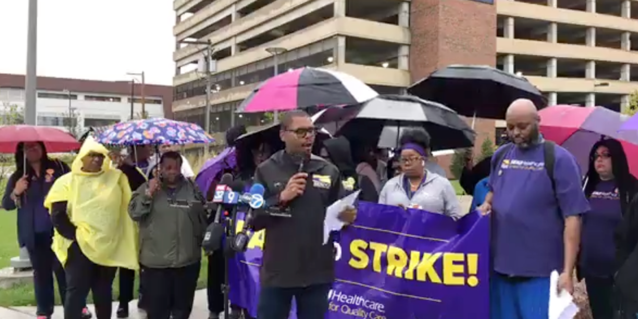 Union workers at Sinai Health System authorize strike