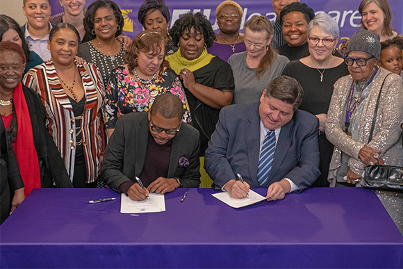 SEIU Healthcare, Pritzker administration approve new contracts for child care providers and home care workers