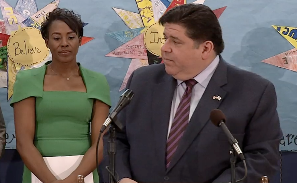 Pritzker says that telehealth will be focus of first release of broadband funds