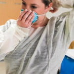 Providers sidelined by COVID-19 sharing protective equipment
