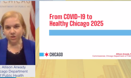 Arwady addresses COVID-19 and healthcare disparities