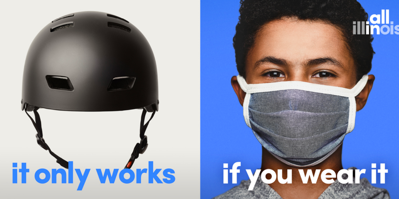Pritzker launches $5 million campaign to encourage use of face coverings
