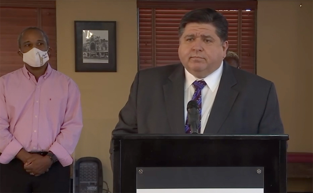 Pritzker says budget cuts necessary this fiscal year without federal aid