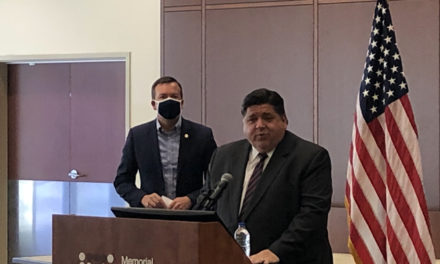 Pritzker praises Illinois' testing capacity as best in Midwest