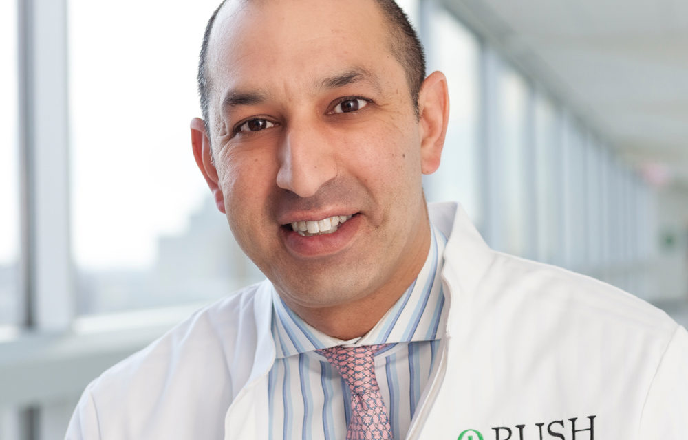 On the record with Rush University Medical Center CEO Dr. Omar Lateef