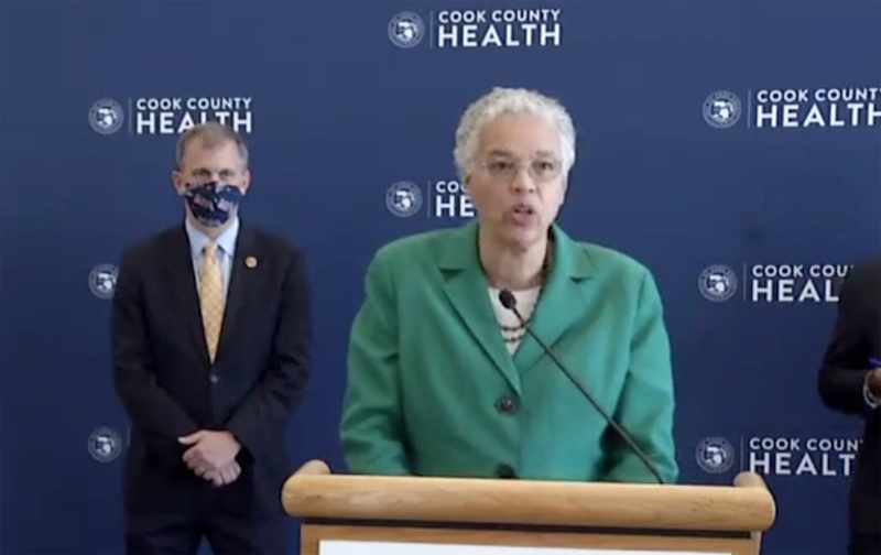 Preckwinkle: Repeal of ACA would 'financially cripple' Cook County Health
