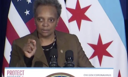 Lightfoot issues stay-at-home 'advisory' for Chicago