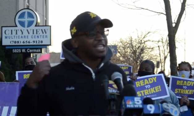SEIU workers announce plans to strike at 11 nursing homes