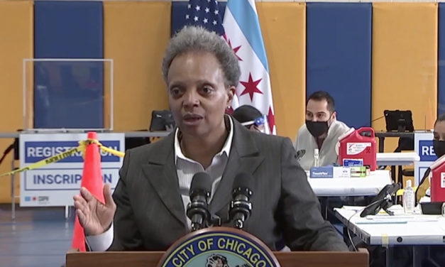 Chicago opens new mass vaccination sites for healthcare workers