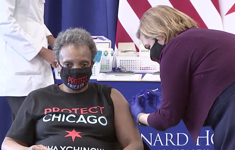 Chicago announces steps to improve equity in vaccine distribution
