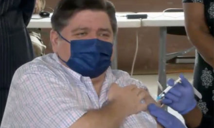 Pritzker receives COVID-19 vaccine as state surpasses 5 million doses administered