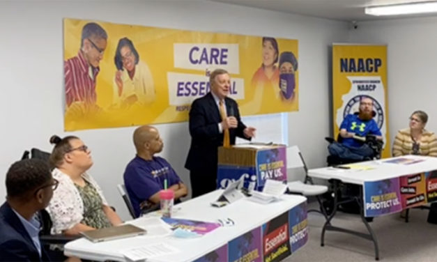 Durbin joins call for increased funding for home care workers